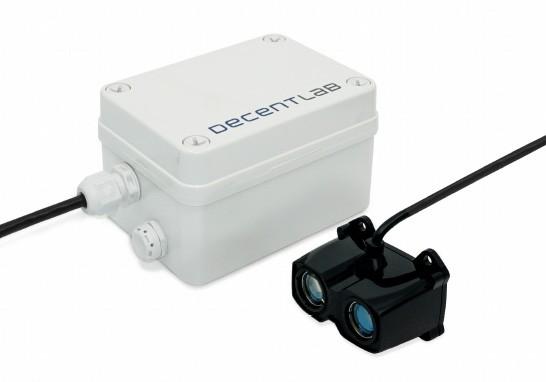 dl-lid sensor IoT nivel laser Decentlab